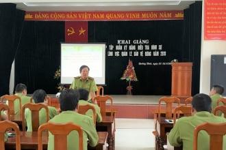 VQG Phong Nha – Kẻ Bàng: Tập huấn kỹ năng điều tra hình sự trong lĩnh vực quản lý, bảo vệ rừng cho lực lượng Kiểm lâm